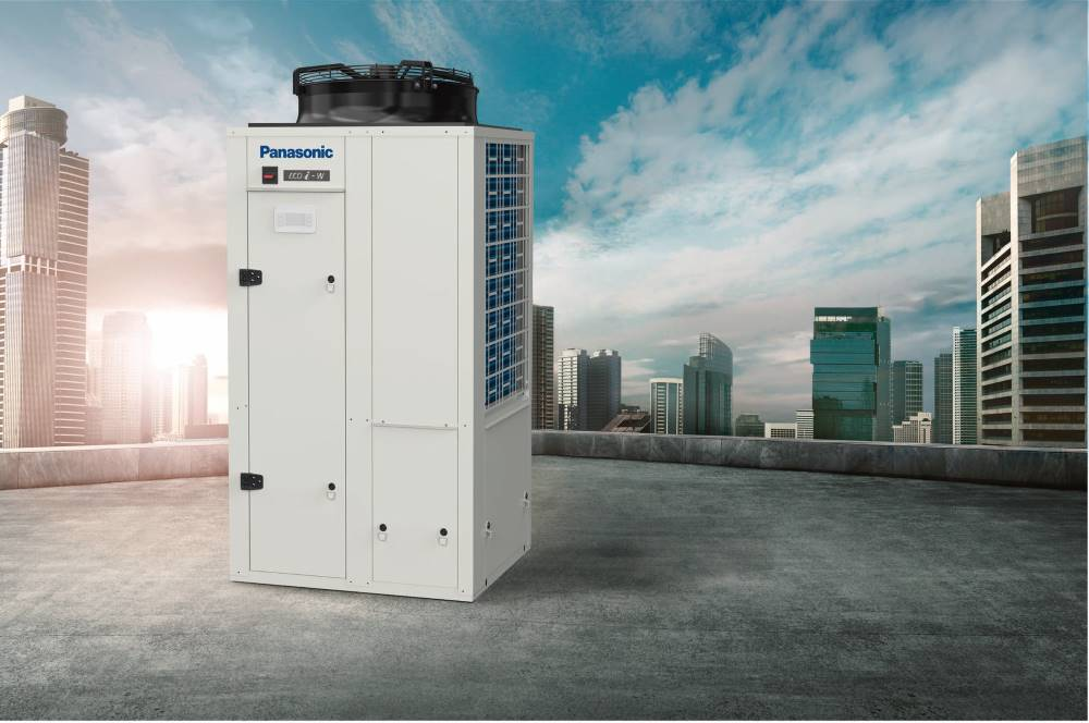 Nové vysoce účinné blokové chladící jednotky Panasonic ECOi-W