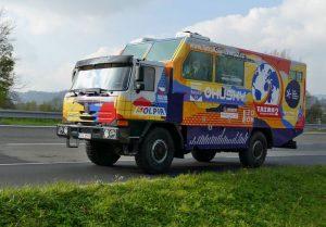 VKopřivnici byl odhalen speciální automobil, který se vydá na expedici Tatra kolem světa 2