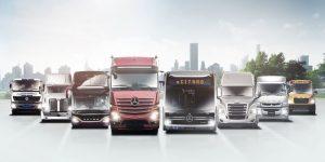 Daimler Truck AG: mnoho značek, jedna rodina – jedny webové stránky