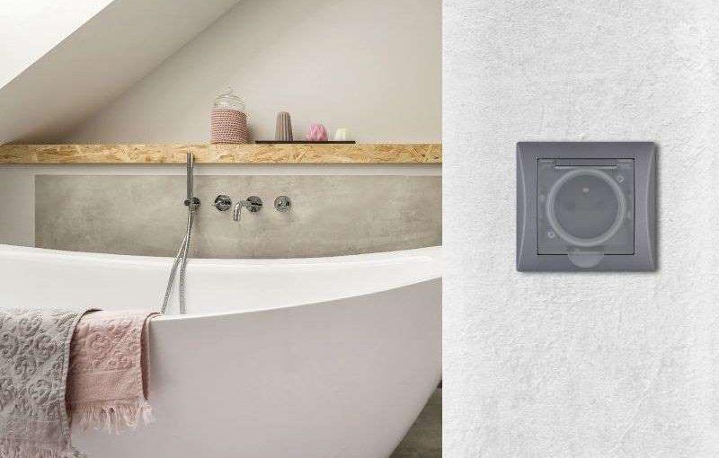 IP 44: Krytí pro bezpečné koupelnové bytí