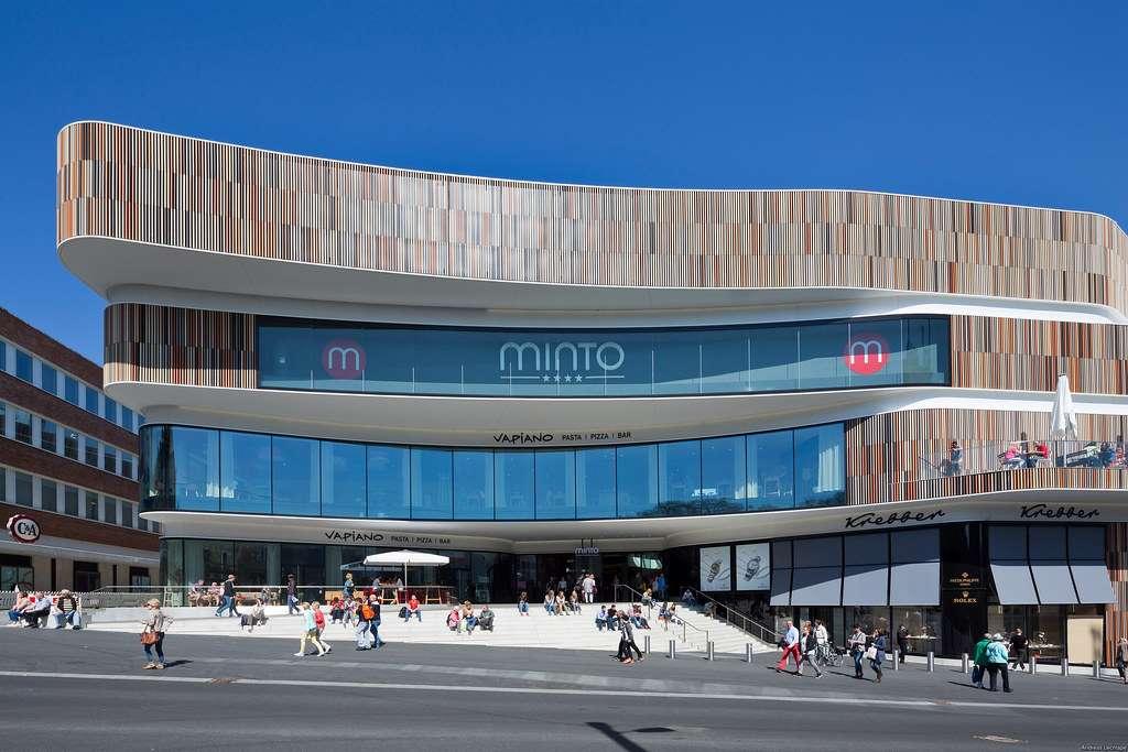Obchodní centrum Minto v Německu zaujme neotřelou architekturou i unikátními vlastnostmi skla
