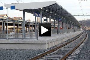 Rekonstrukce železničního koridoru Hostivař pokračuje podle plánu