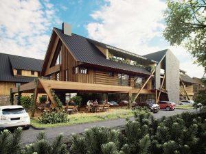 Začala výstavba první etapy projektu Aldrov Apartments & Resort. Nabídne luxusní rekreaci i výhodnou investici