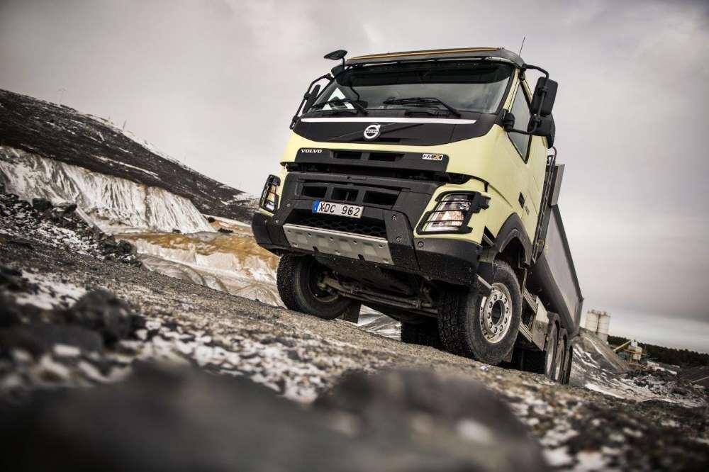 Volvo FMX slaví 10 let na trhu v těch nejnáročnějších podmínkách