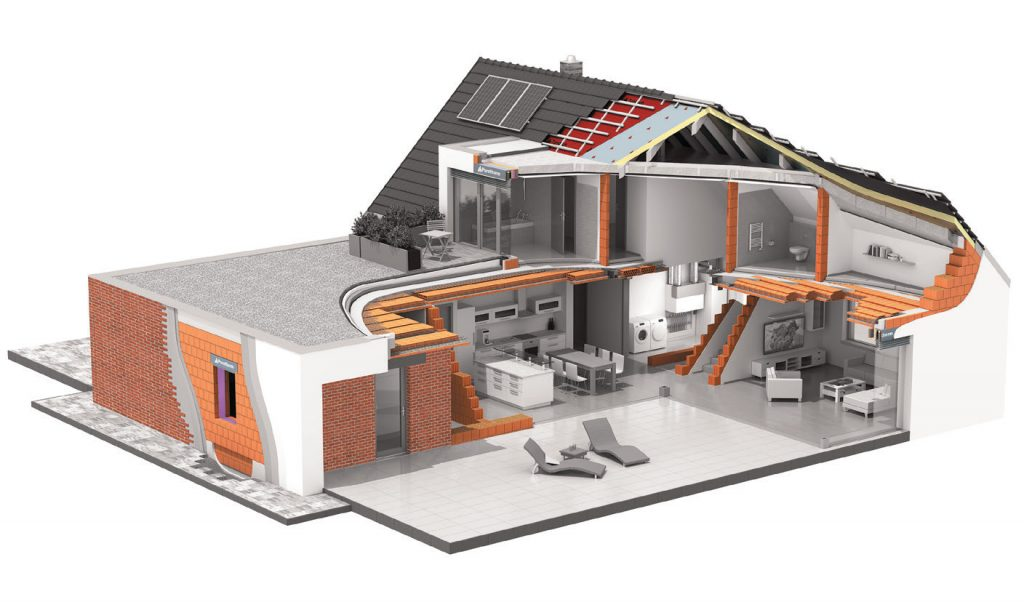 Výstavba RD v programu Wienerberger e4 dům