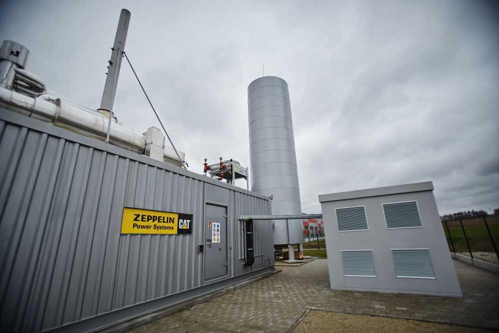 Kogenerační jednotka dodává v Dačicích teplo i elektrickou energii