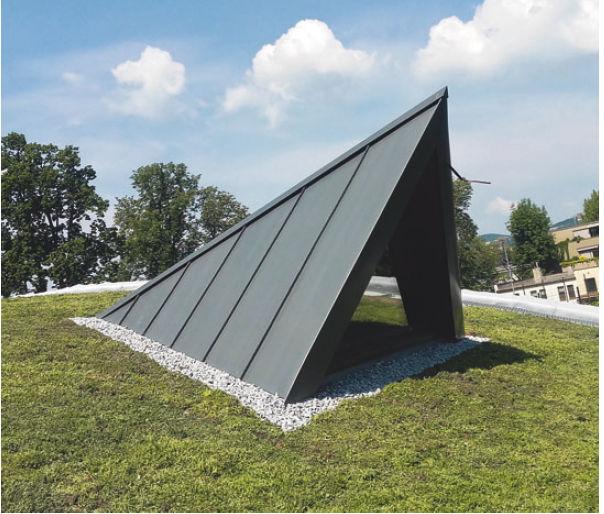 Vegetační střechy s tepelně izolačním materiálem puren PIR