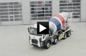 Nákladní vozidla FORD TRUCKS v barvách Cemexu