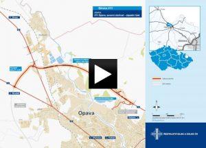V Opavě začala stavba další části severního obchvatu za 994 mil.