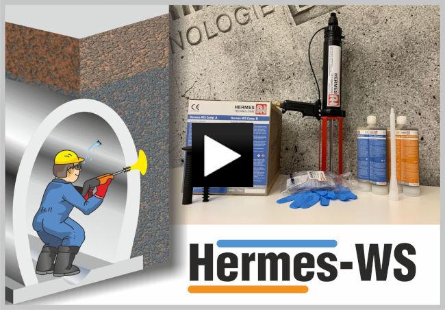 Injektážní pryskyřice Hermes-WS, novinka pro boj s utěsněním průniků vody v šachtách a v průchozích stokách