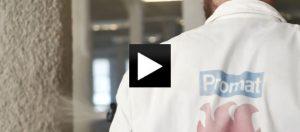 Instruktážní video k aplikaci protipožární omítkoviny PROMASPRAY® – P 300