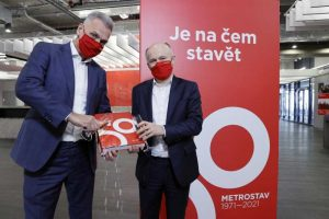 Metrostav slaví padesátiny