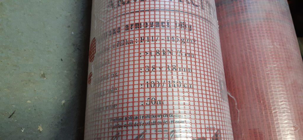 Perlinka - armovací tkanina