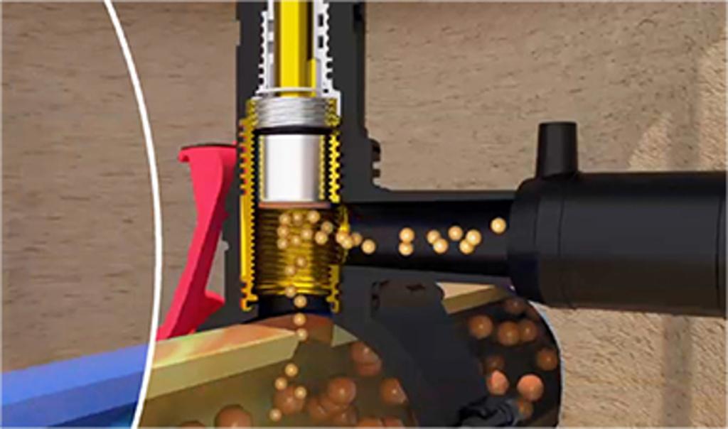 Revoluční novinka ve vysazování domovních přípojek – nový navrtávací odbočkový ventil DAV s upínacím mechanismem RedSnap