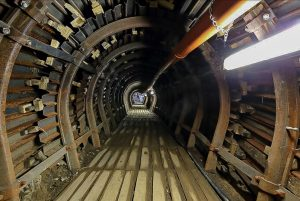 Čedičová vejčitá trouba, rekonstrukce kanalizace v ulici Řásnovka