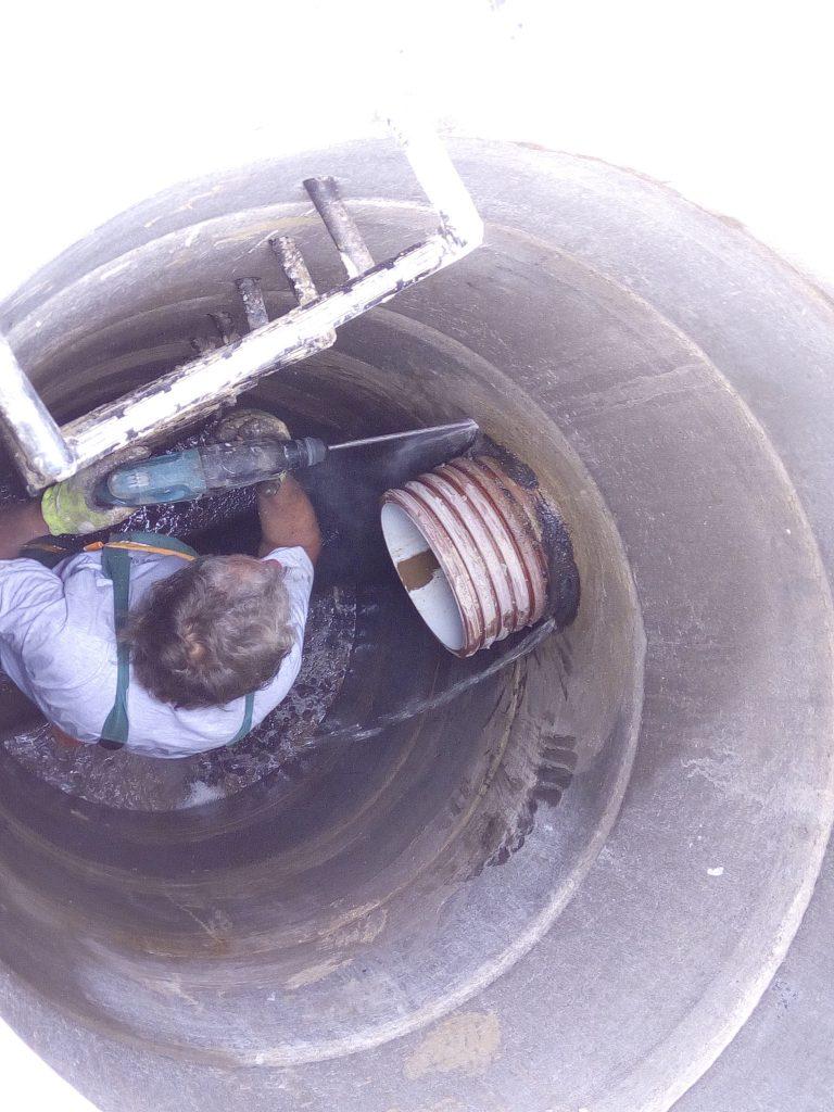 ENVIROX zná recept na dokonalou sanaci kanalizačních šachet