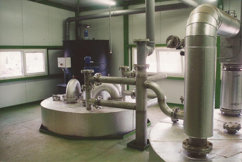 Strojní technologické zařízení pro hygienizaci kalu AEROTHERM