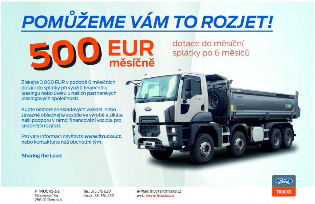 DOTACE 3 000 EUR NA NÁKLADNÍ FORDY? UŽ JEN DO KONCE BŘEZNA!