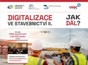 Pozvánka DIGITALIZACE VE STAVEBNICTVÍ II. 27.4.2021 Ministerstvo pro místní rozvoj
