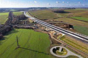 Oprava drenáže dálnice D1 mezi Přerovem a Lipníkem nad Bečvou