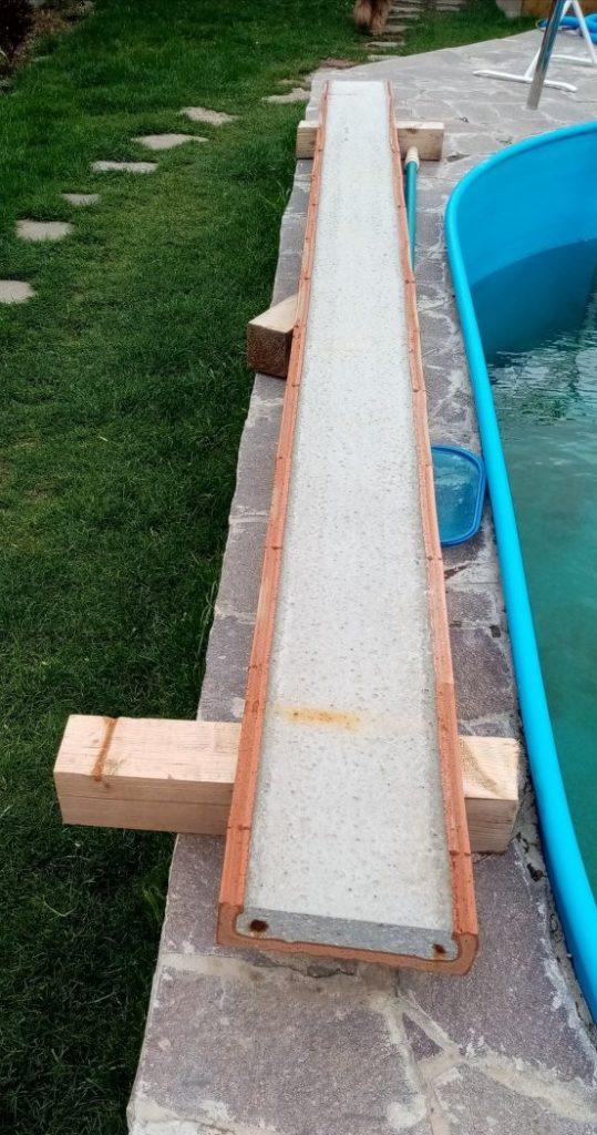 betonový překlad 3,5 m