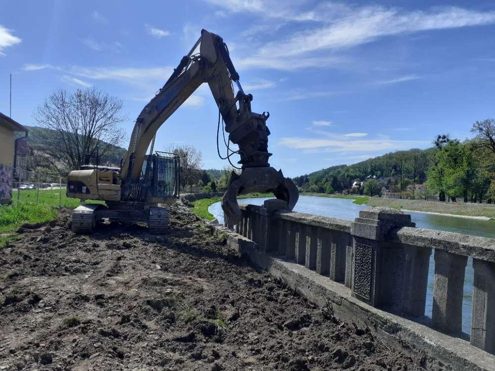 Povodí Moravy v Hranicích představilo harmonogram stavby protipovodňových zdí
