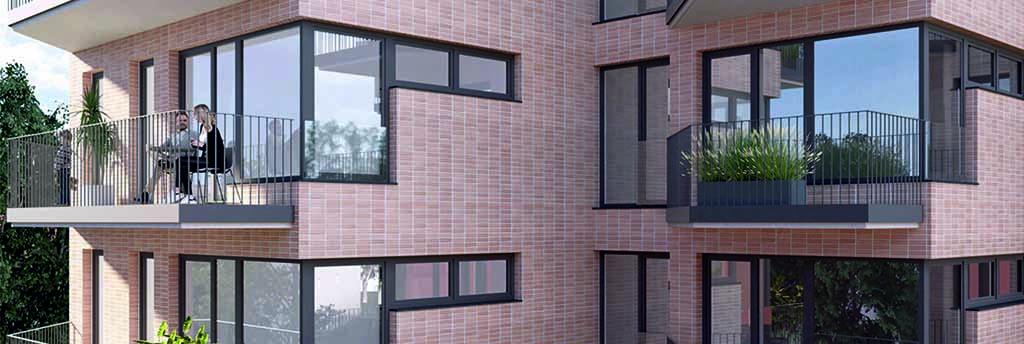 Společnost DOMOPLAN postaví v Brně pět nových rezidenčních projektů v hodnotě 1,5 miliardy korun. Dohromady nabídnou přes 200 bytů