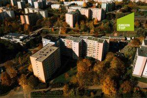 KLIMAHAUS a GREENTOP se podílely na unikátní rekonstrukci střechy paneláku v Brně