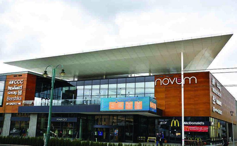 AVG group se postarala o unikátní design nového obchodního centra v Prešově