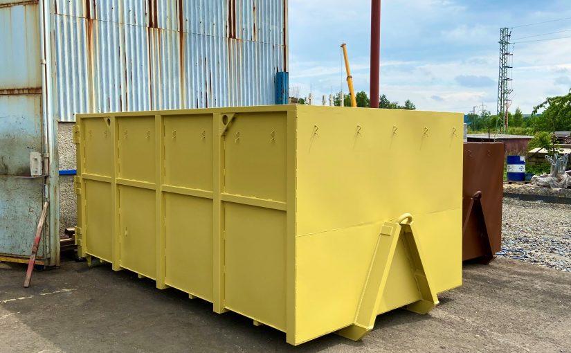 Hákové kontejnery české výroby k prodeji (Abroll, Avia aj.)