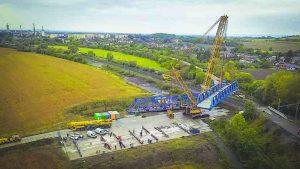 Rekonstrukce žst. Přerov, 2. stavba SO 19-19-04 t. ú. Dluhonice - Prosenice, železniční most v km 4,863