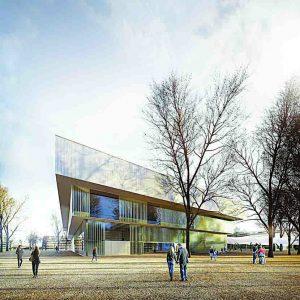 Rekonstrukce a přestavba pavilonu Z v Českých Budějovicích nabídne otevřený multifunkční prostor
