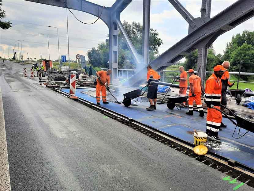 Srpnový přehled nejdůležitějších oprav Správy Ostrava