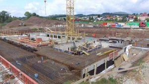 Unikátní základy nového bazénu ve Vrchlabí jsou hotové. Stavbaři Metrostav DIZ použili skoro hektar hydroizolace