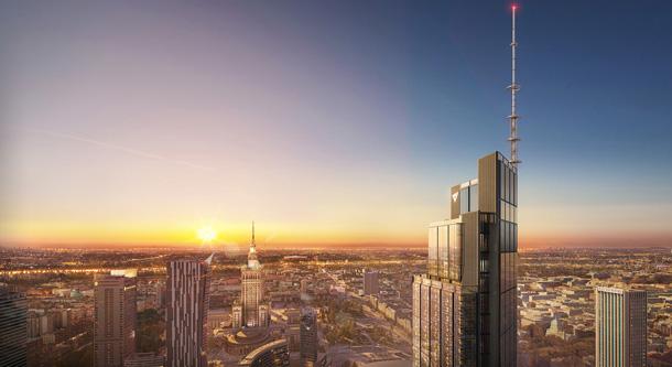 PlanRadar se podílí na stavbě nejvyšší kancelářské budovy v Evropě