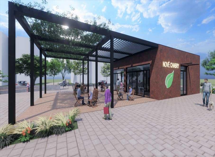 Star Group dokončuje etapu F a G v Nových Chabrech. Dále pak plánuje rozlehlý park a komunitní centrum