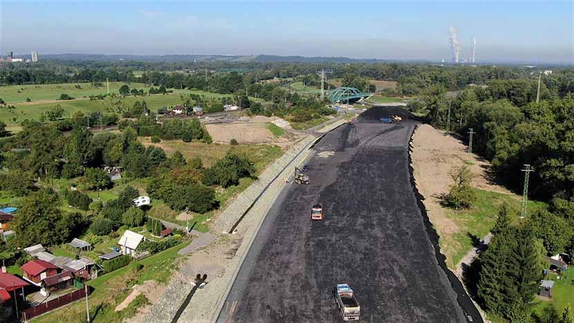 Stavba obchvatu Karviné pokračuje od pondělí do neděle
