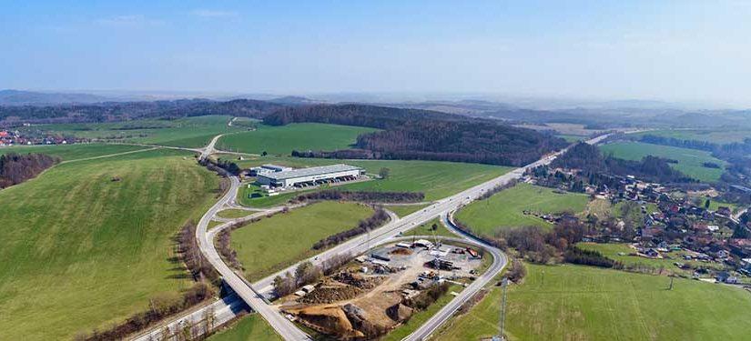 Prologis míří s novým parkem Prologis Park Prague D1 Ostředek vysoko