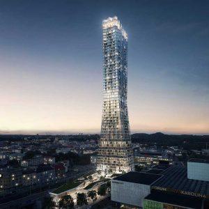 Příprava projektu stavby nové výškové budovy v Ostravě pokračuje